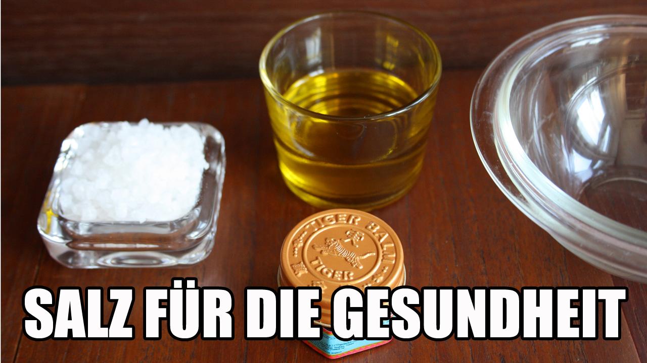 Salz für die Gesundheit