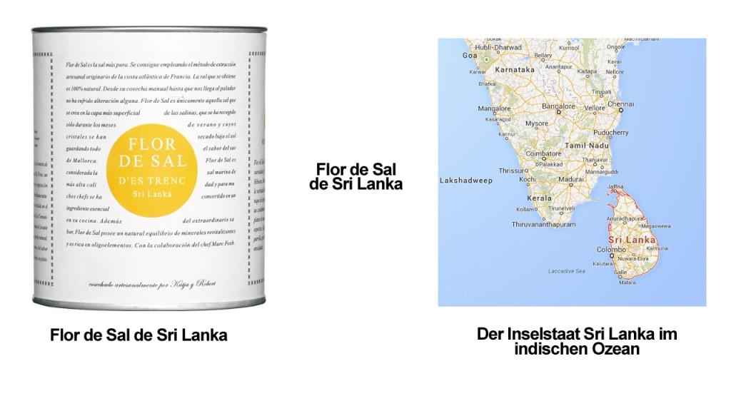 Flor de Sal de Sri Lanka
