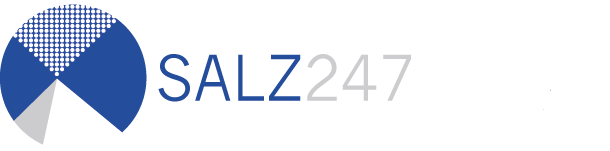 salz247 logo new. Black Bedroom Furniture Sets. Home Design Ideas