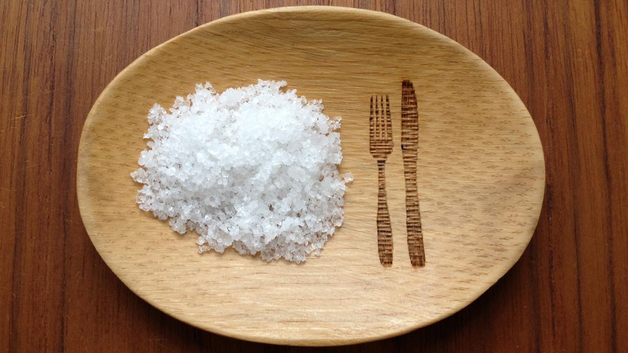 Ozean Salz aus Indien