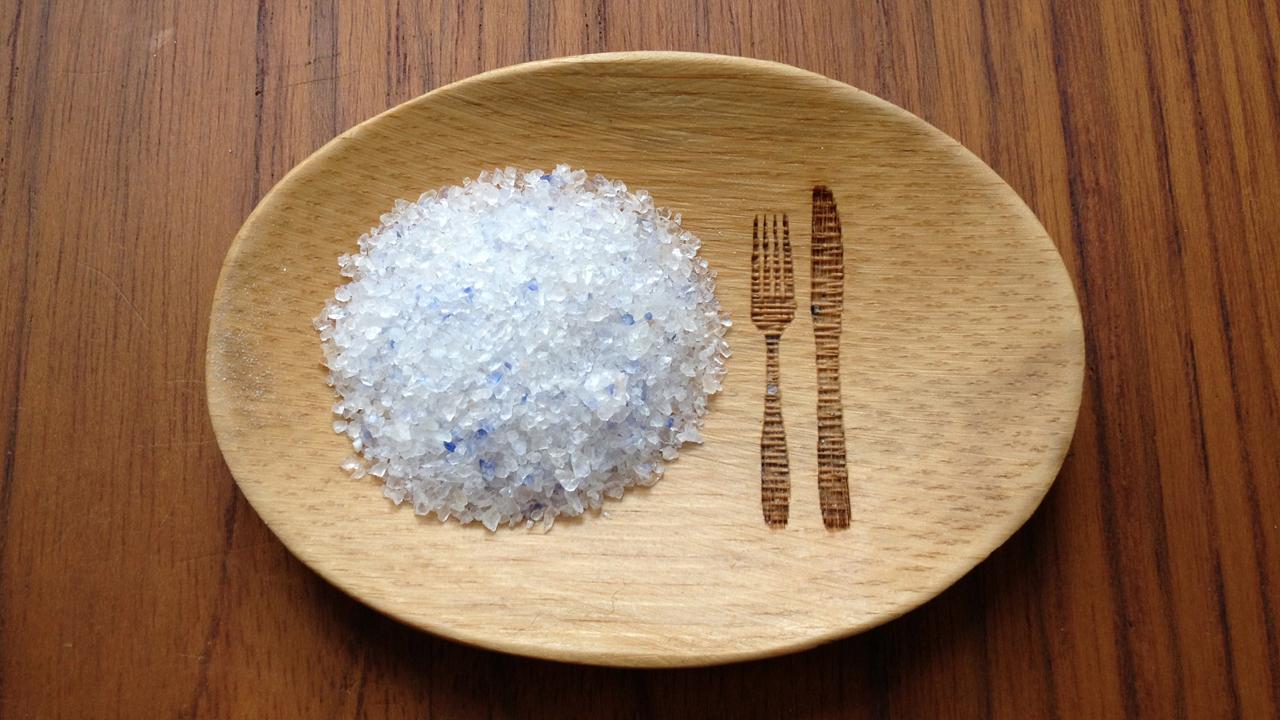 So sieht persisches Blausalz aus