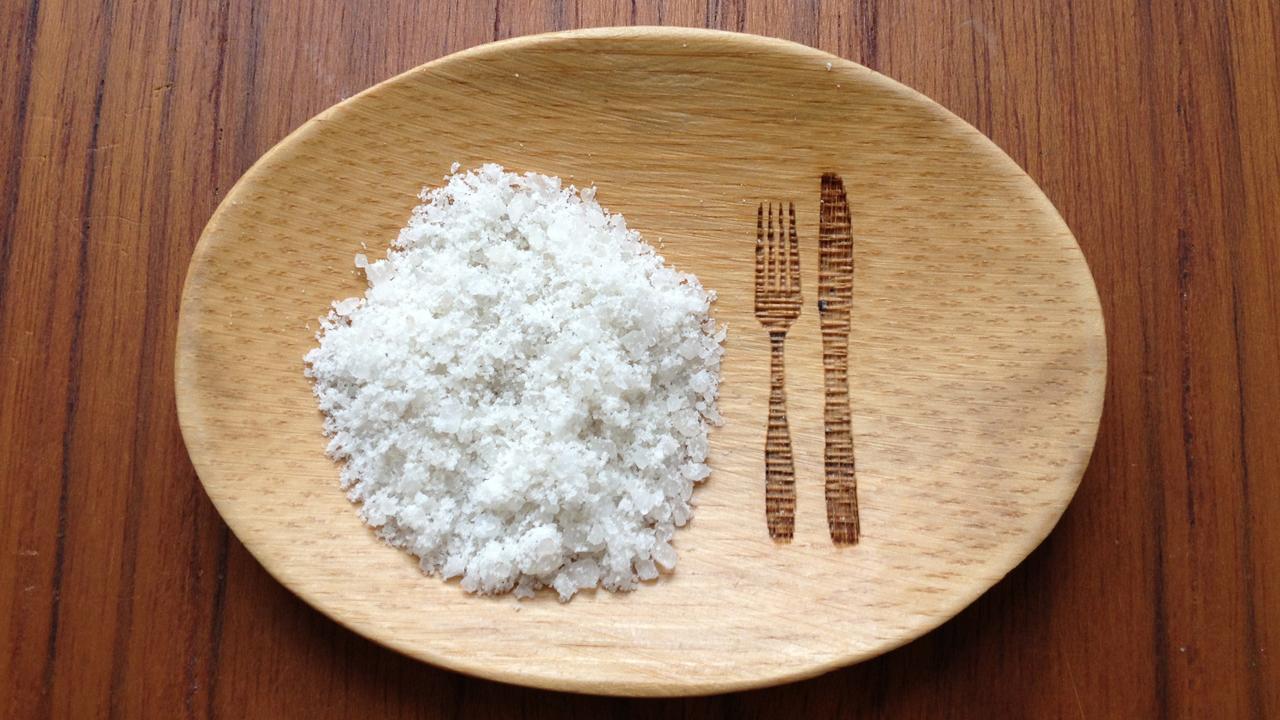 So sieht das Tibet Salz aus