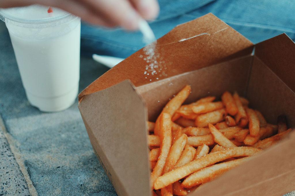 Salz in der Ernährung